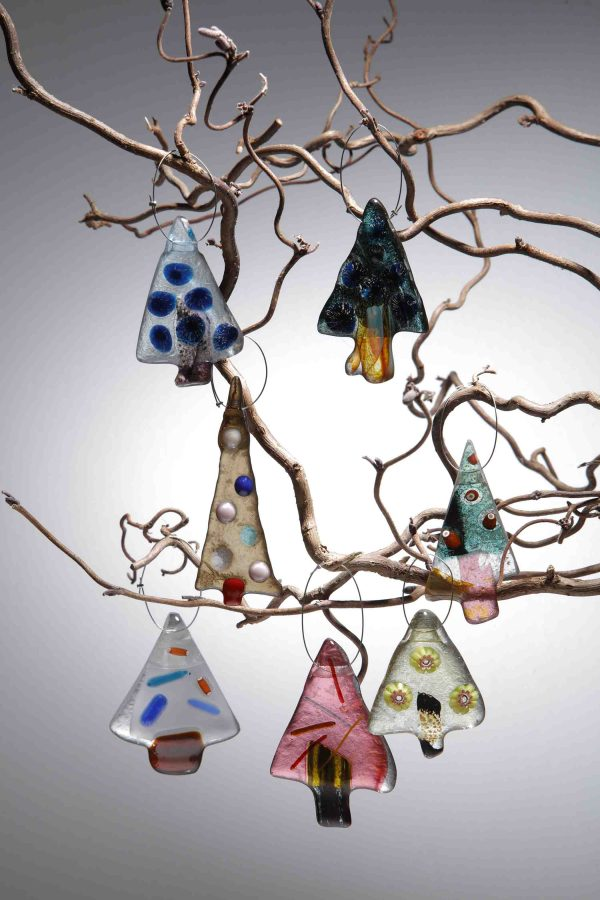 Handmade Christmas Decorations by Allister Malcolm Glass