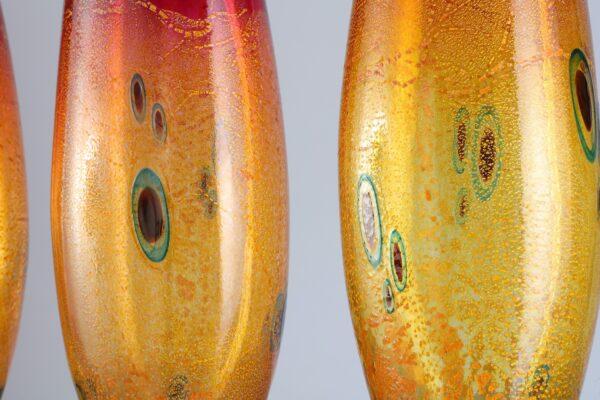 Glassart Vases surface detail by Allister Malcolm